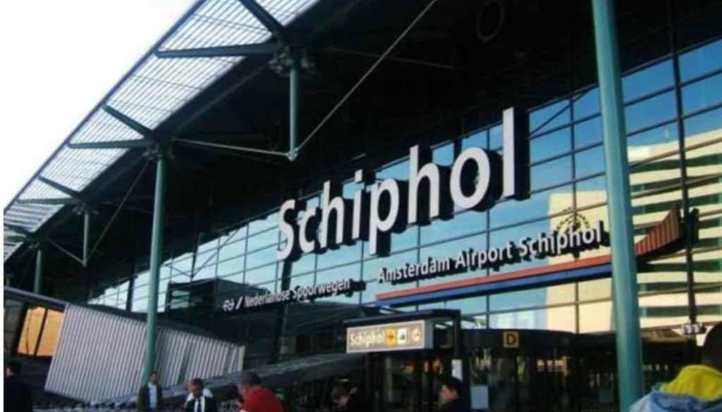 Schiphol Airport Main Terminal.