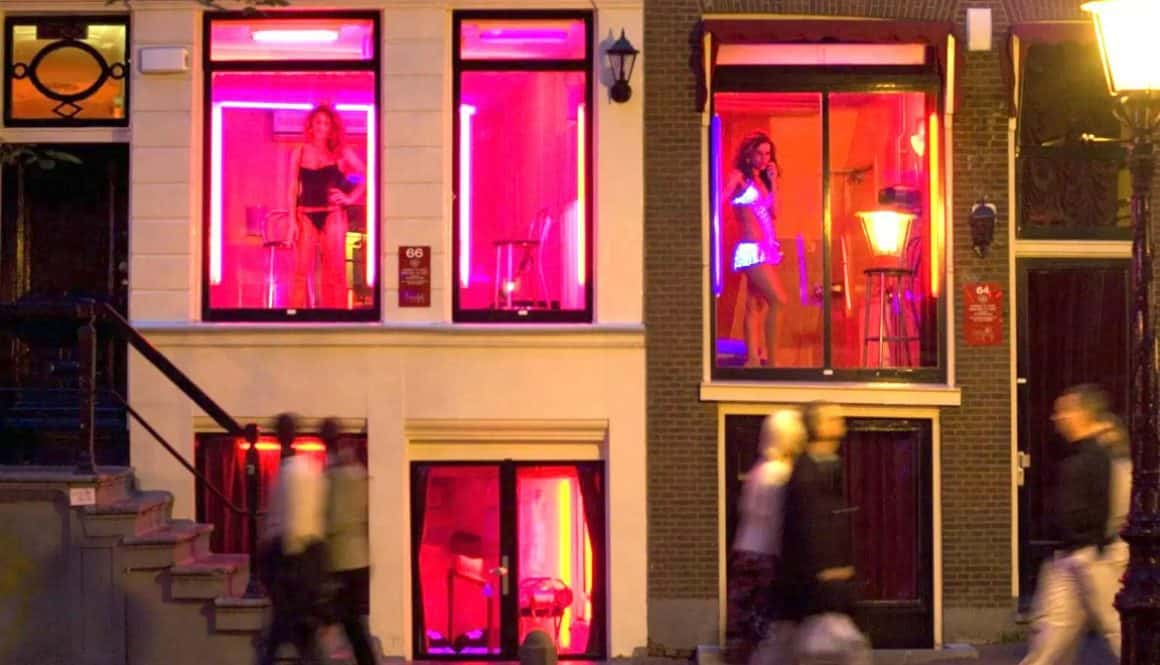 Sex Workers in Amsterdam's Red-Light District